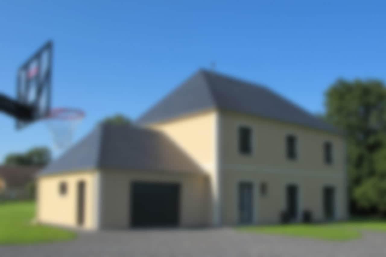 Maison à deux étages complet, une réalisation GERBAT